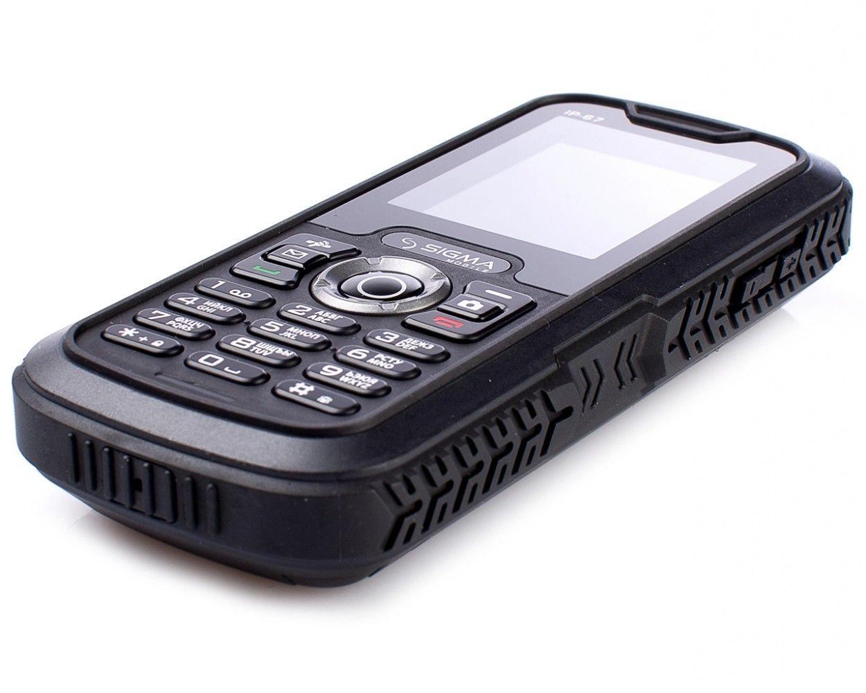 Мобильный телефон Sigma mobile X-treme IP67 Black - 3