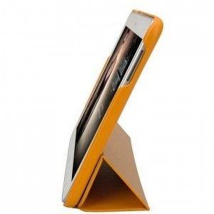 Чехол-книжка Jison Premium Leatherette Smart Case (JS-S52-03H80) Yellow for Galaxy Tab 3 10.1 (P5200) - 1