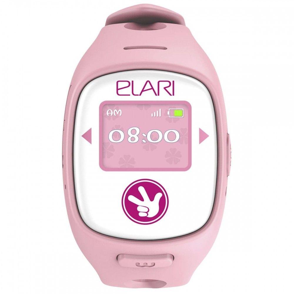 Детский телефон-часы с GPS трекером FIXITIME 2 Pink (FT-201P) - 1