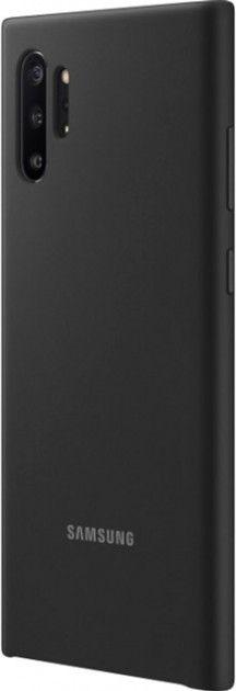 Накладка Samsung Silicone Cover для Samsung Galaxy Note 10 Plus (EF-PN975TBEGRU) Black от Територія твоєї техніки - 4