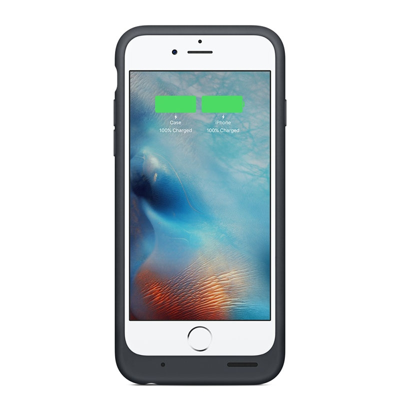 Чехол-аккумулятор Apple Smart Battery Case Charcoal Gray (MGQL2) для iPhone 6s - 3