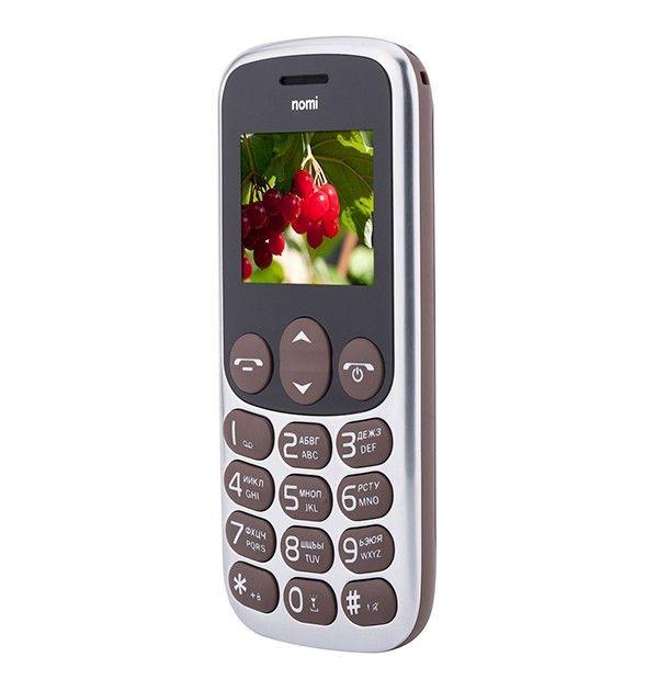 Мобильный телефон Nomi i177 Brown - 1