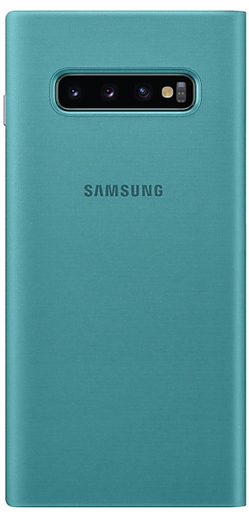 Чехол-книжка Samsung LED View Cover для Samsung Galaxy S10 Plus (EF-NG975PGEGRU) Green от Територія твоєї техніки - 2