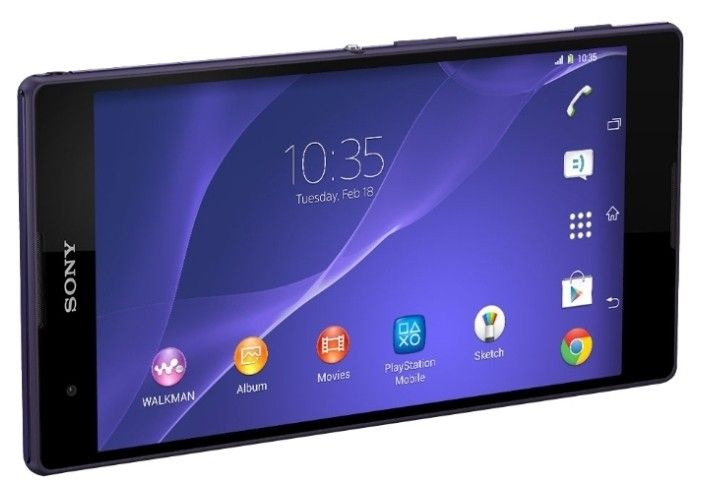 Мобильный телефон Sony D5322 Xperia T2 Ultra Purple - 1