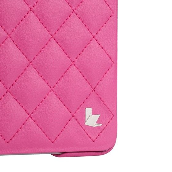 Чехол-книжка для iPad Jison Quilted Leather Smart Case (JS-ID5-02H33) Rose Red for iPad Air/Air 2 - 3
