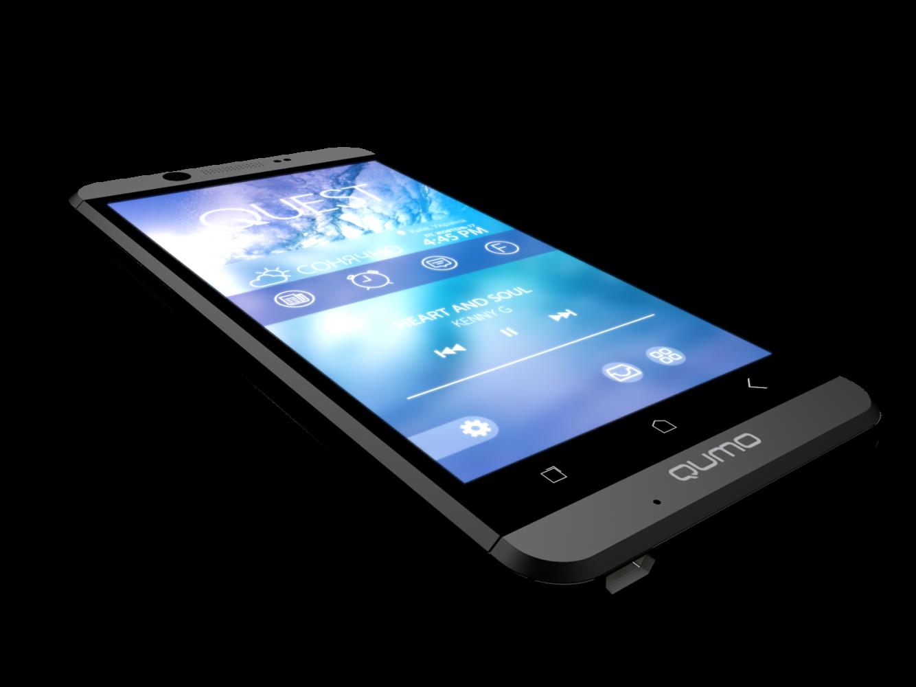 Мобильный телефон Qumo Quest 474 Black - 7