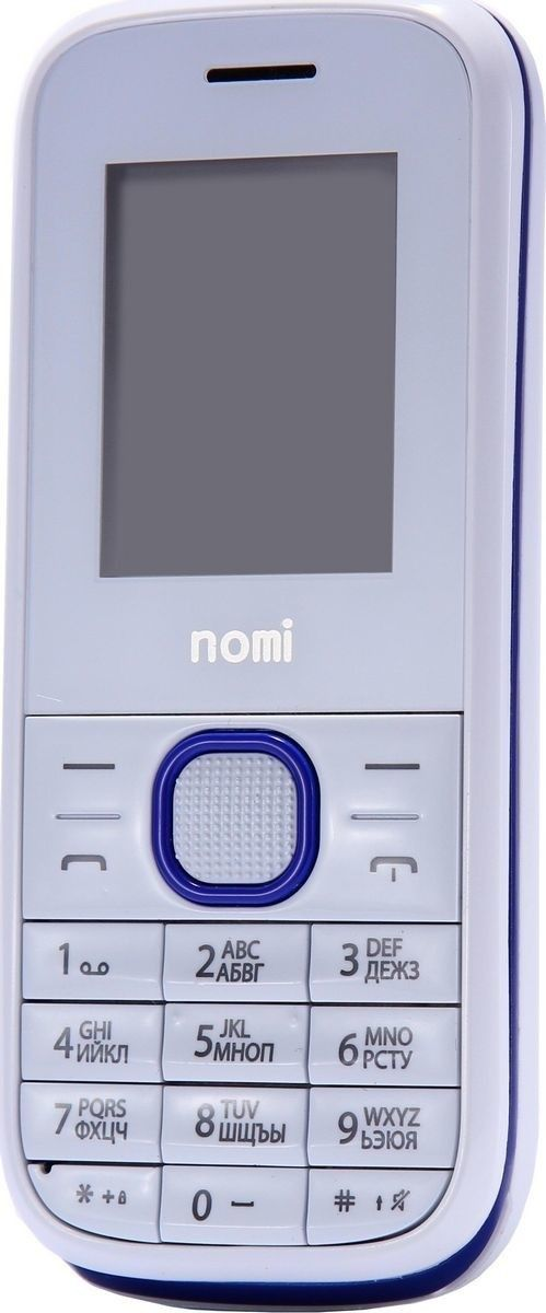 Мобильный телефон Nomi i181 White-Blue - 2