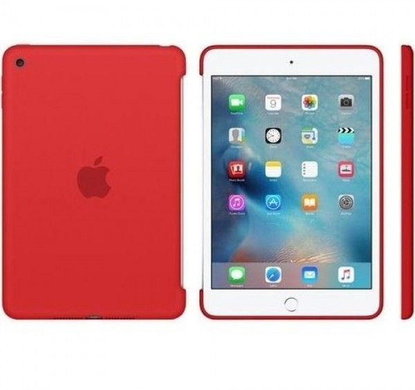 Силиконовый чехол Apple Silicone Case для  iPad mini 4 (MKLN2ZM/A) Red - 4