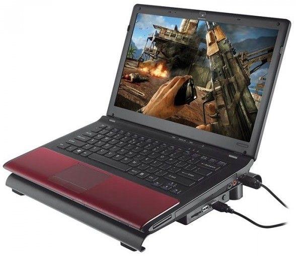Подставка для ноутбука Trust GXT 277 Notebook Cooling Stand (19142) Black от Територія твоєї техніки - 4