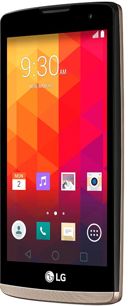 Мобильный телефон LG Leon Y50 H324 Gold - 2