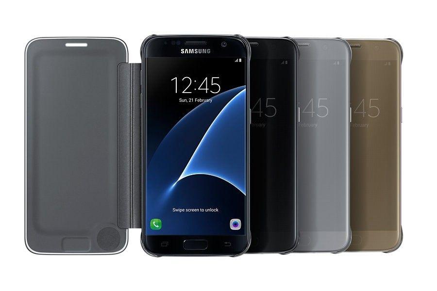 Чехол Samsung Clear Cover для Galaxy S7 Silver (EF-ZG930CSEGRU) - 4