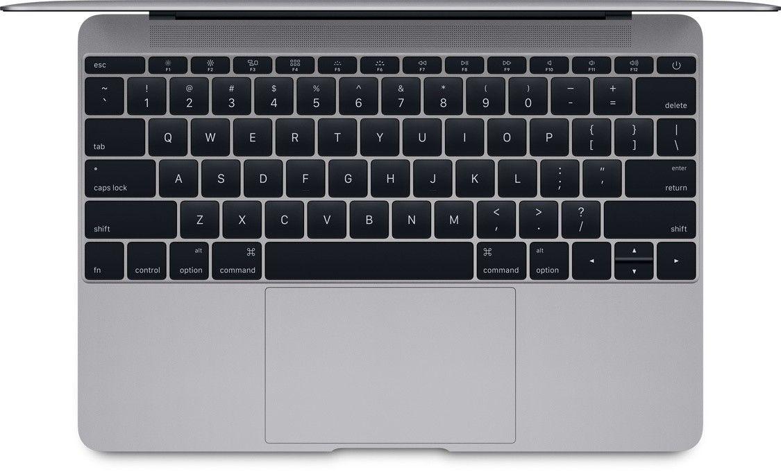 "Ноутбук Apple MacBook 12"" Space Gray (MLH72UA/A) - 2"