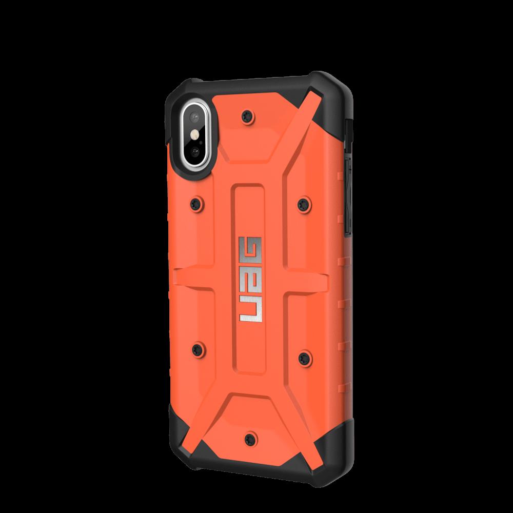 Чехол UAG iPhone X Pathfinder Rust Orange от Територія твоєї техніки - 5
