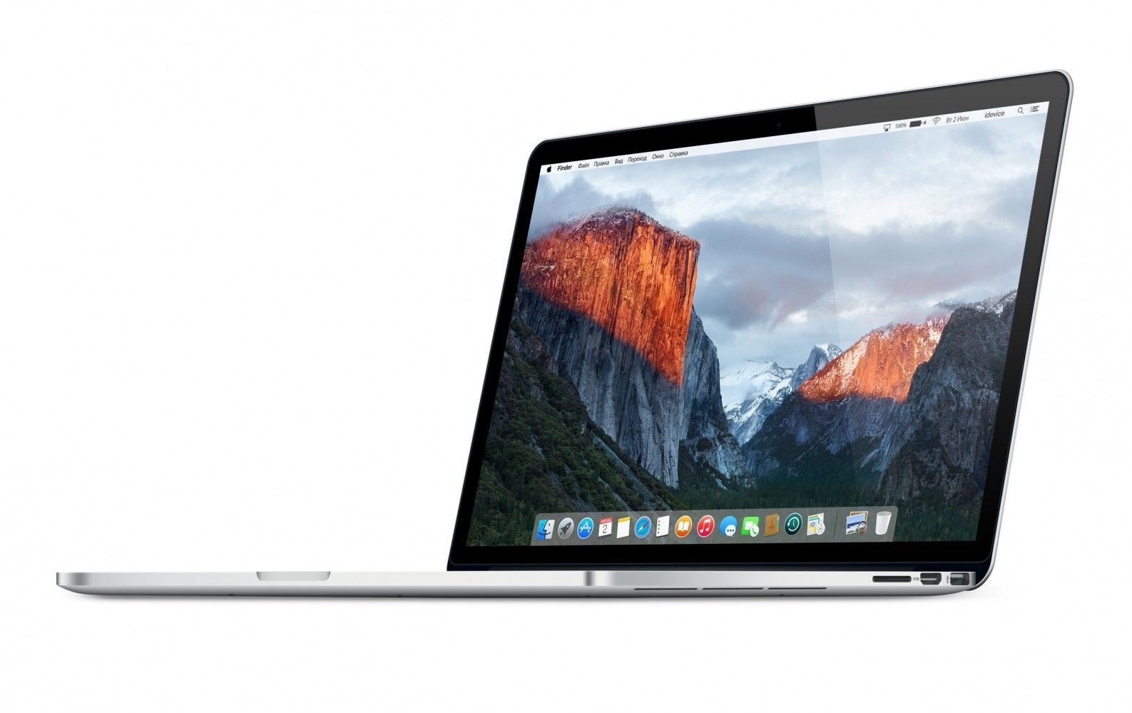 "Ноутбук Apple MacBook Pro Retina 15"" (MJLQ2UA/A) - 2"