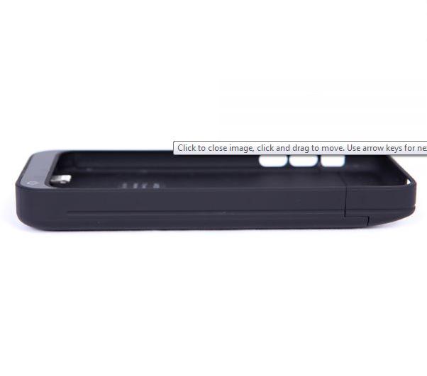 Чехол-аккумулятор AIRON Power Case для IPhone 5 Black - 3