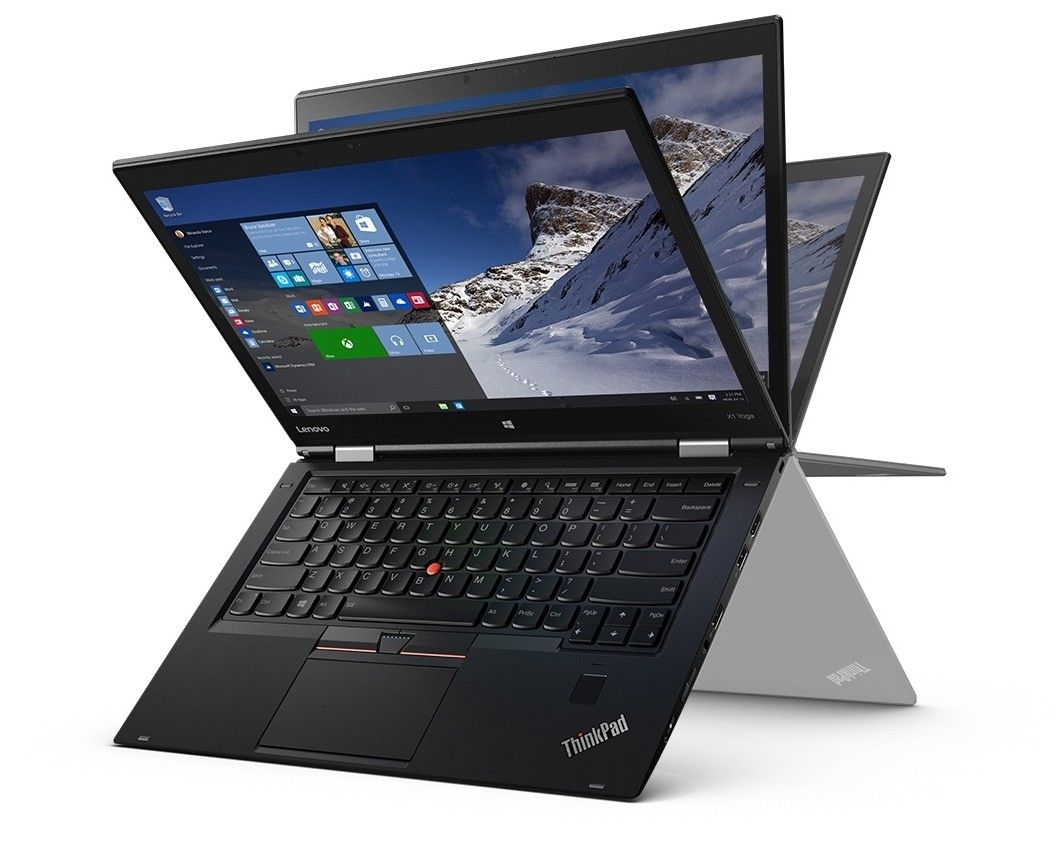 Ноутбук LENOVO ThinkPad Yoga X1 (20FQS02L00) - 3