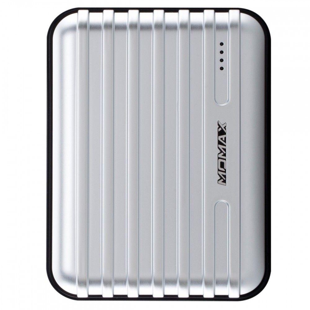 Портативная батарея MOMAX iPower GO+ Luggage External Battery Pack 13200mAh Silver (IP24APS) - 3