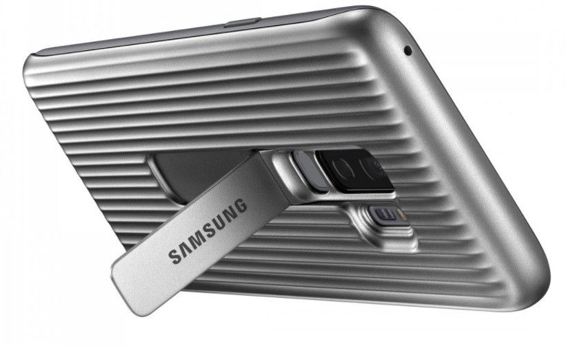Накладка Samsung Protective Stadning Cover S9 Plus Silver (EF-RG965CSEGRU) от Територія твоєї техніки - 3
