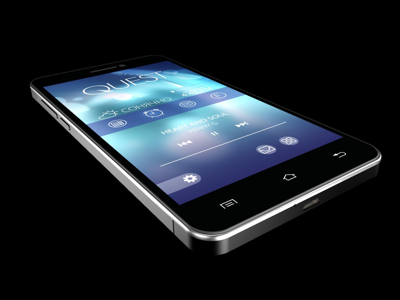 Мобильный телефон Qumo Quest 507 Black - 3