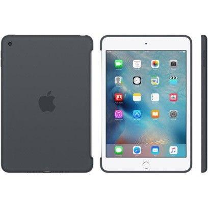 Силиконовый чехол Apple Silicone Case для  iPad mini 4 (MKLK2ZM/A) Charcoal Gray - 4