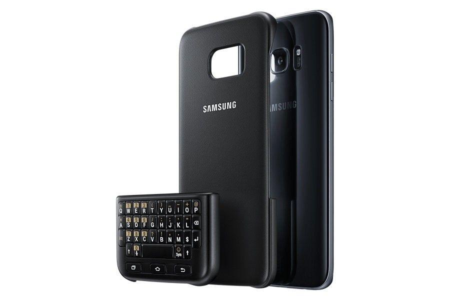 Чехол-клавиатура Keyboard Cover Samsung Galaxy S7 edge - 6