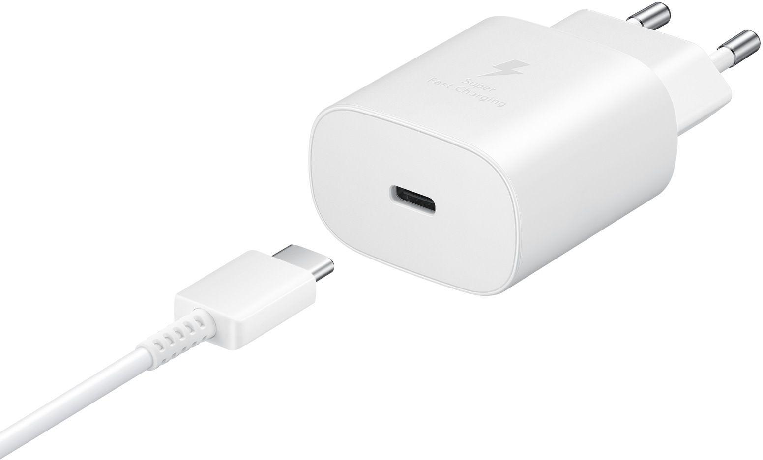 Сетевое зарядное устройство Samsung (EP-TA800XWEGRU) White от Територія твоєї техніки - 3