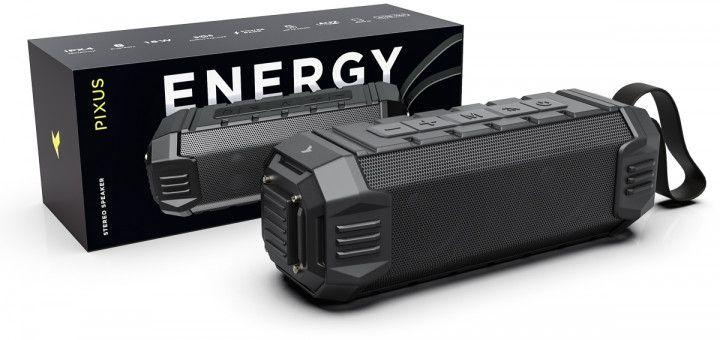 Портативная акустика Pixus Energy (PXS005BK) Black