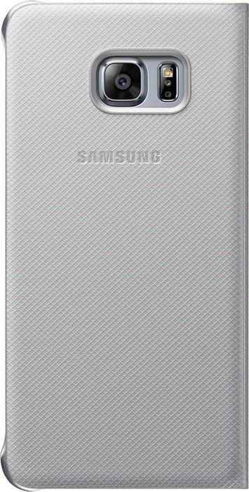 Чехол Samsung S View Cover для Samsung Galaxy S6 edge+ Silver (EF-CG928PSEGRU) - 2