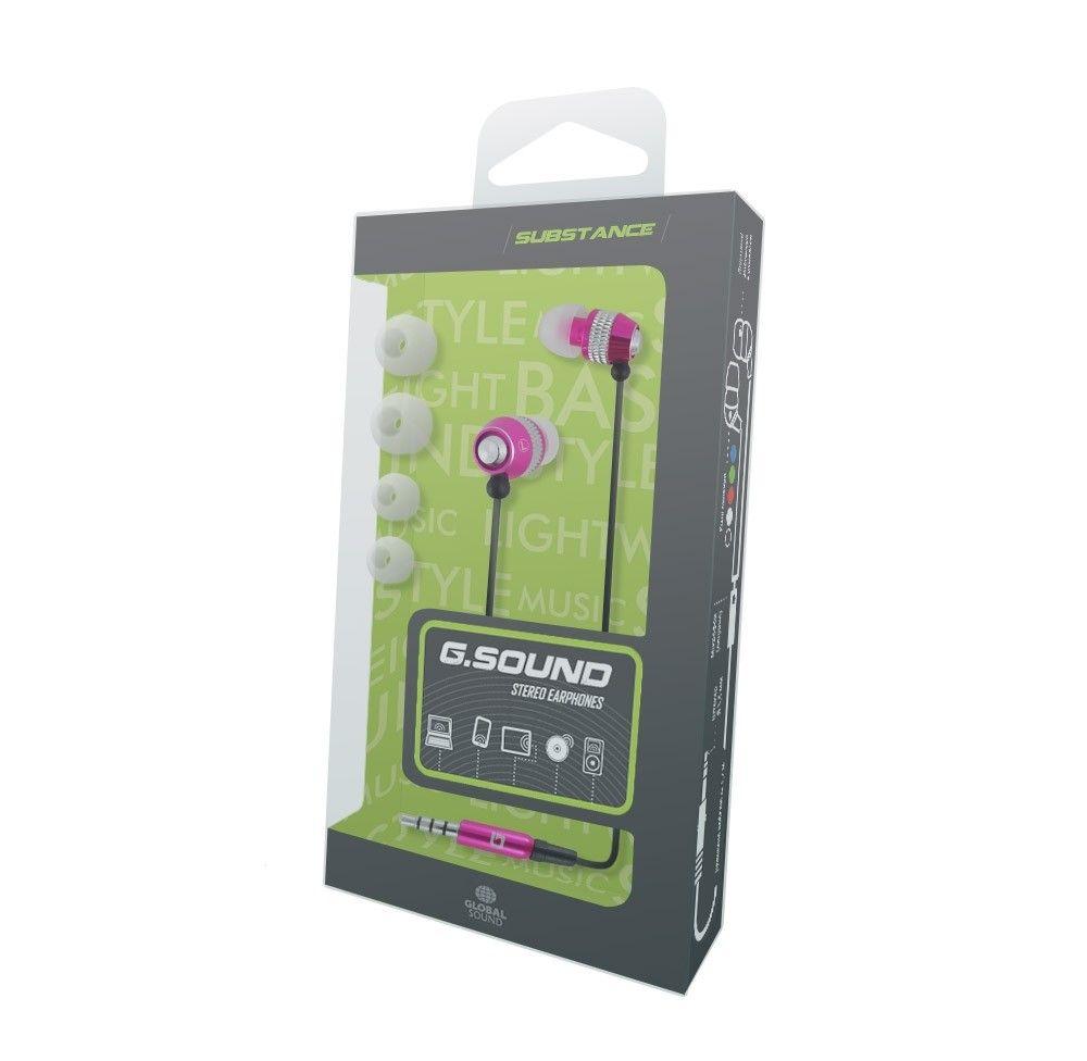 Наушники G.Sound С011Bk Pink - 1