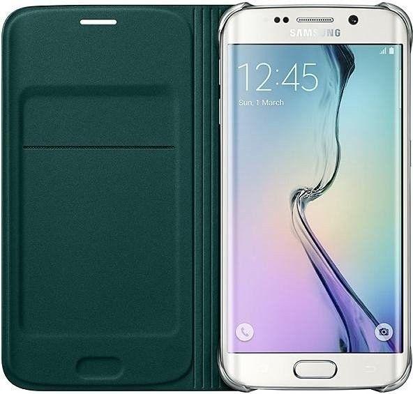 Чехол Samsung Zero Edge для Samsung Galaxy S6 Edge Green (EF-WG925PGEGRU) - 2