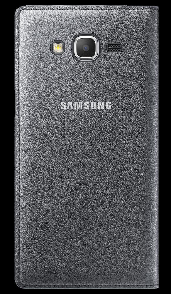 Чехол Samsung для Grand Prime Flip Wallet EF-WG530BSEGRU Charcoal - 2