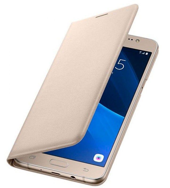 Чехол-книжка для Samsung Galaxy J5 Gold (EF-WJ510PFEGRU) - 3