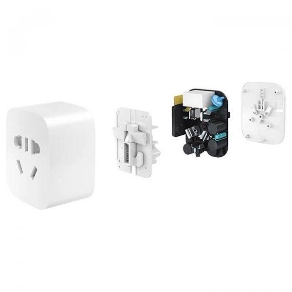 Выключатель сетевой розетки XIAOMI Mi Smart Socket 2 ZigBee (GMR4001CN/GMR4004CN)