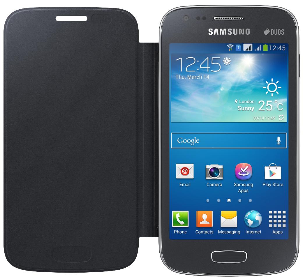 Чехол Samsung для Galaxy Ace 3 S7272 (EF-FS727BBEGWW) Black - 2