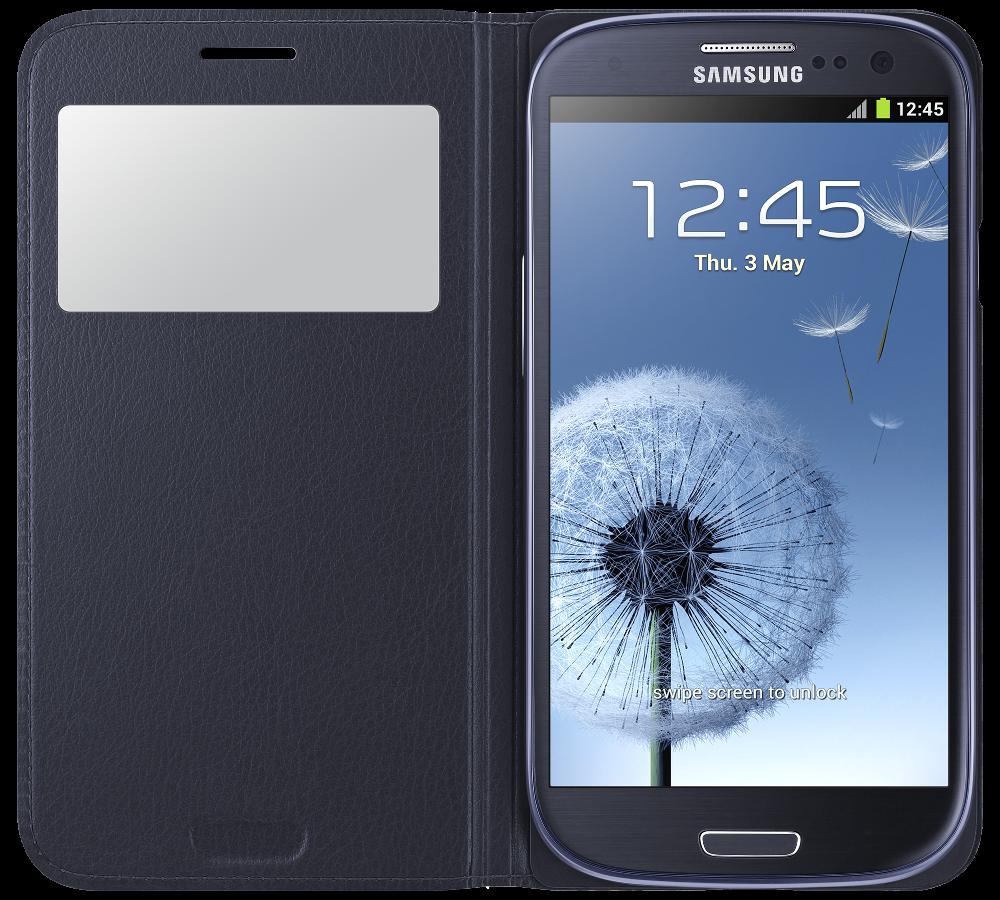 Чехол Samsung S View EF-CI930BLEG Indigo Blue для Galaxy S3 Neo - 1