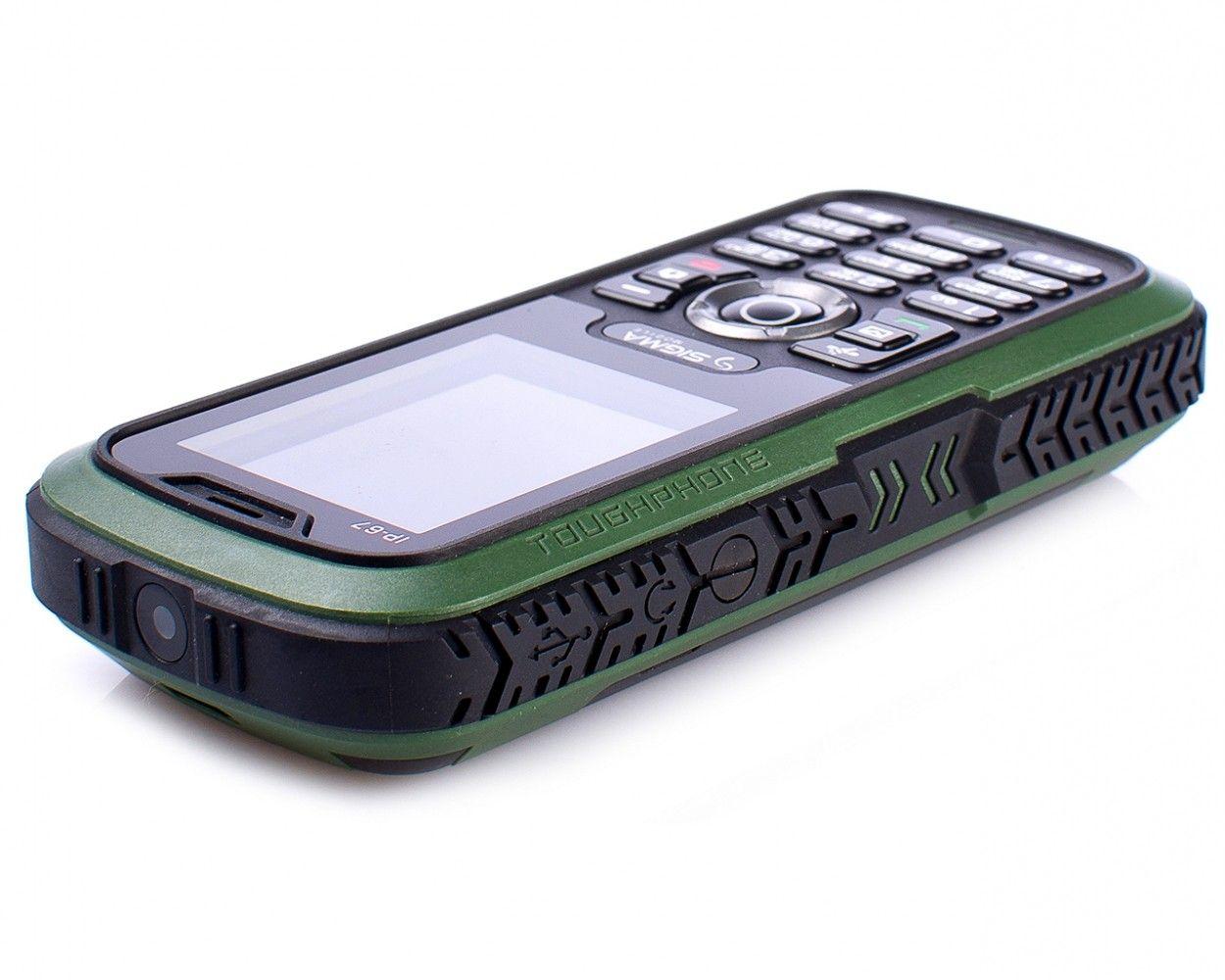 Мобильный телефон Sigma mobile X-treme IP67 Green - 4