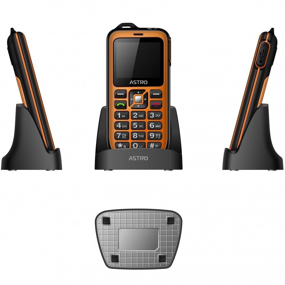 Мобильный телефон ASTRO B200 RX Orange - 3