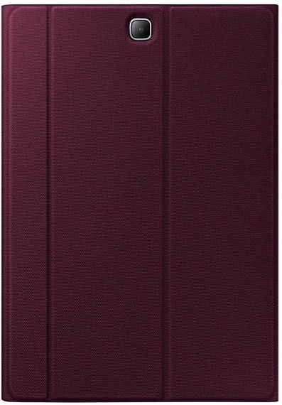 "Чехол-книжка Samsung Tab A 9.7"" EF-BT550BQEGRU Wine - 1"