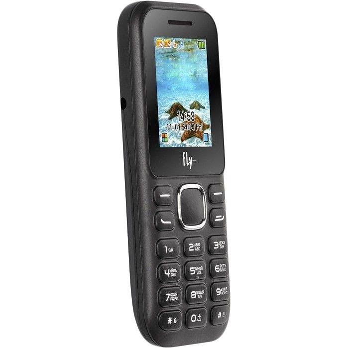 Мобильный телефон Fly DS104D Black - 2