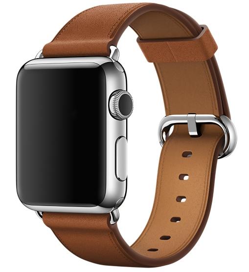 Ремешок Classic для Apple Watch 38мм (MLDY2) Saddle Brown - 1