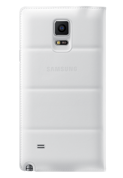 Чехол Samsung для Galaxy Note 4 S view EF-CN910FTEGRU White - 1