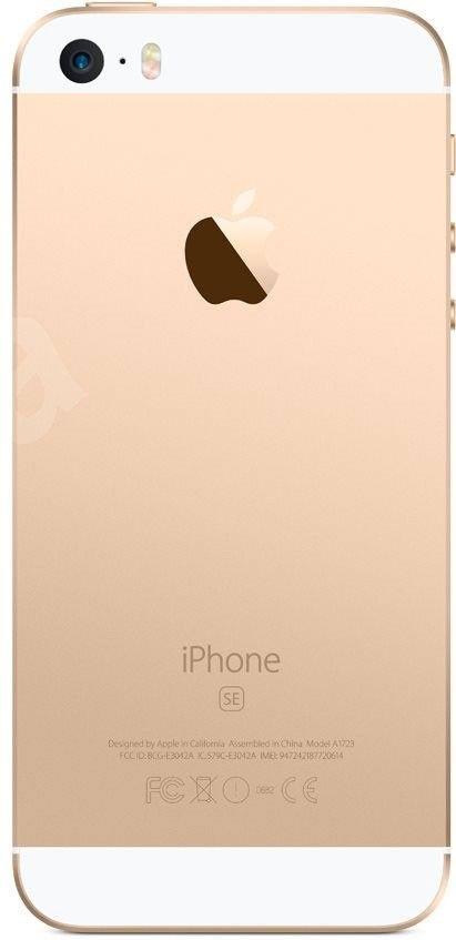 Мобильный телефон Apple iPhone SE 16GB Gold - 2