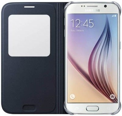 Чехол Samsung S View Zero для Samsung Galaxy S6 BlueBlack (EF-CG920PBEGRU) - 2