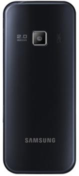 Мобильный телефон Samsung C3322 Midnight Black - 1