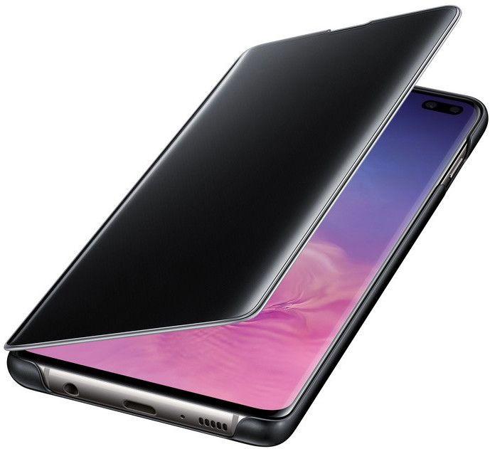 Чехол-книжка Samsung Clear View Cover для Samsung Galaxy S10 Plus (EF-ZG975CBEGRU) Black от Територія твоєї техніки - 4
