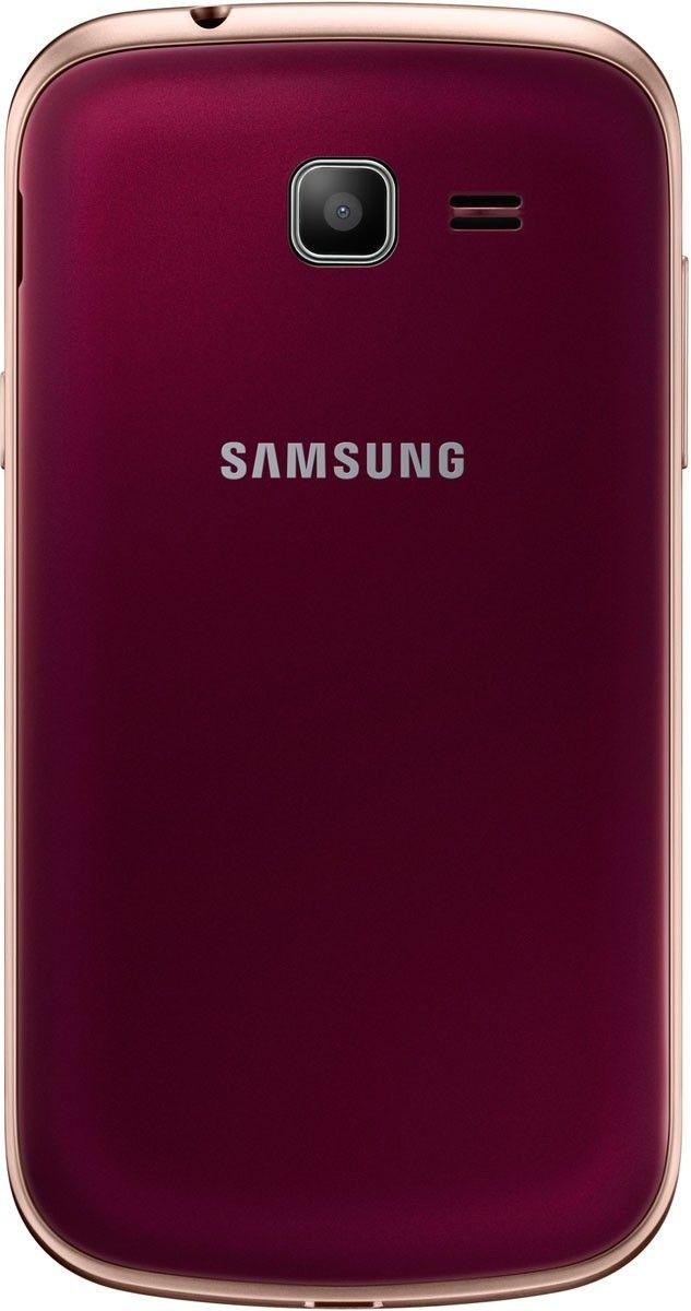 Мобильный телефон Samsung S7390 Galaxy Trend Wine Red - 1