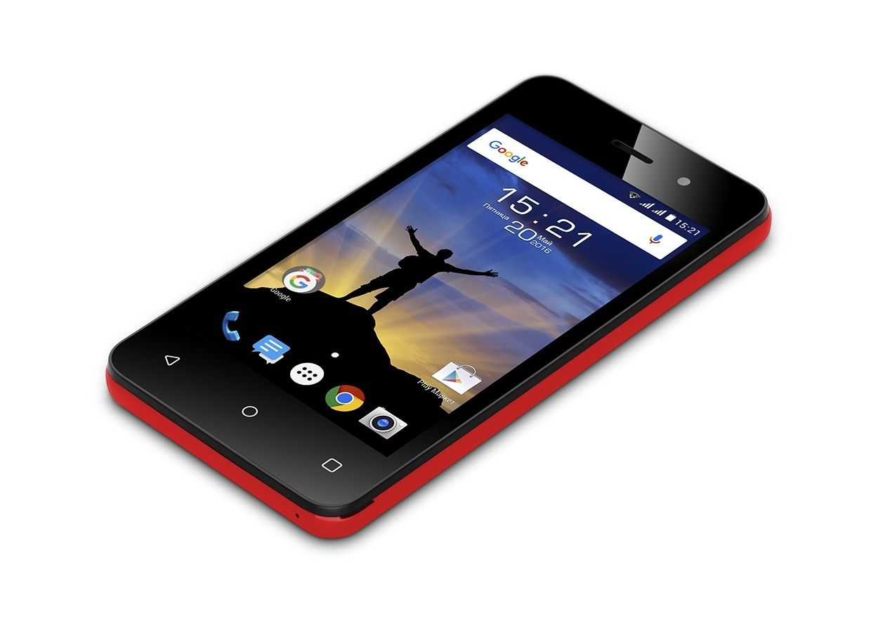 Мобильный телефон Fly FS405 Stratus 4 Red - 1