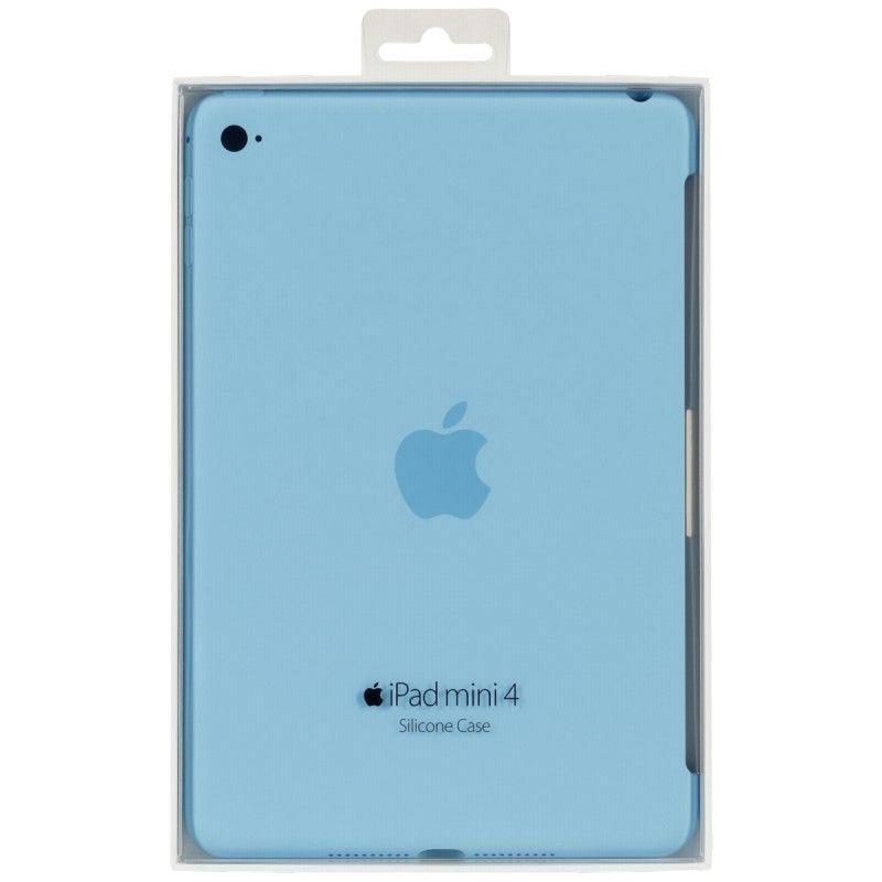 Силиконовый чехол Apple Silicone Case для  iPad mini 4 (MLD32ZM/A) Blue  - 5