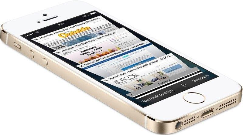 Мобильный телефон Apple iPhone 5S 16GB Gold как новый Original factory refurbished by Apple - 3