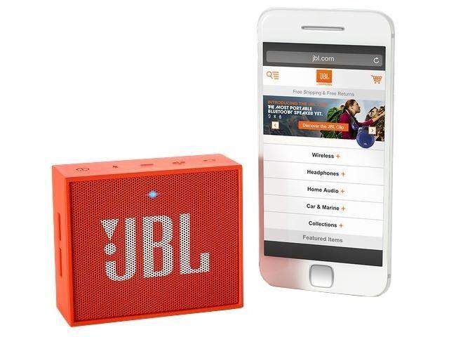 Портативная акустика JBL GO Orange (GOORG) - 5